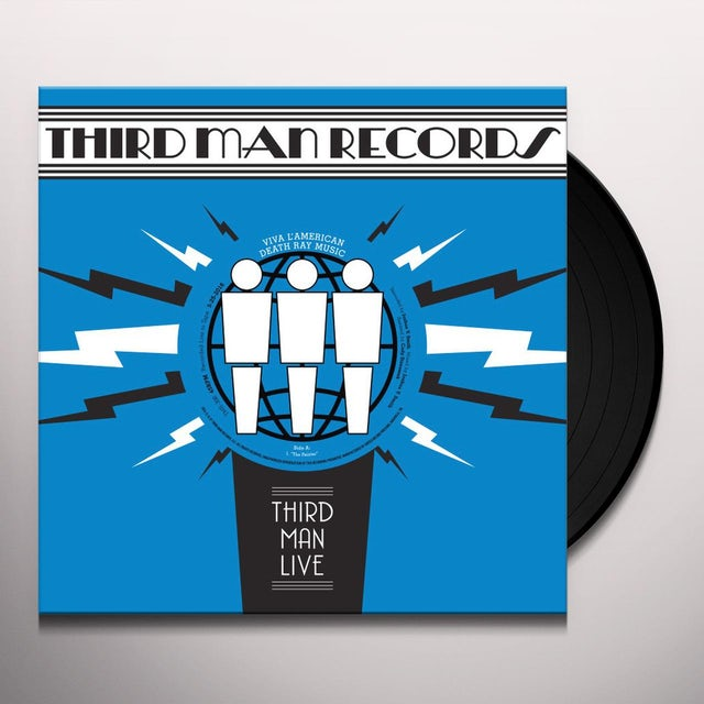 Viva L'American Death Ray Music LIVE AT THIRD MAN RECORDS Vinyl Record