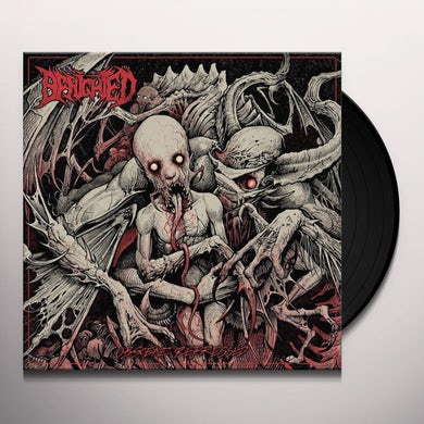 Benighted OBSCENE REPRESSED Vinyl Record