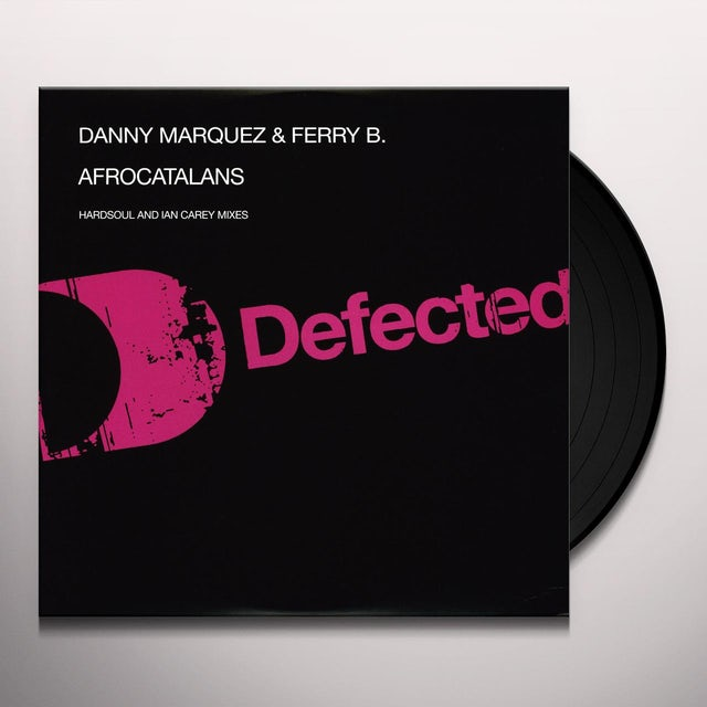 Danny Marquez & Ferry B AFRO CATALAN Vinyl Record - UK Release