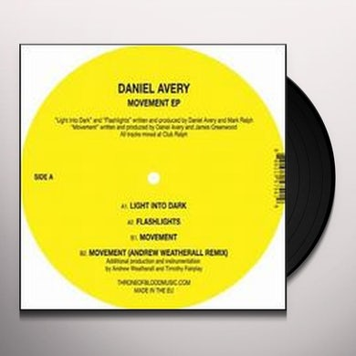 Daniel Avery MOVEMENT Vinyl Record