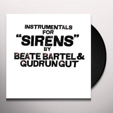 Beate Bartel / Gudrun Gut INSTRUMENTALS FOR SIRENS Vinyl Record