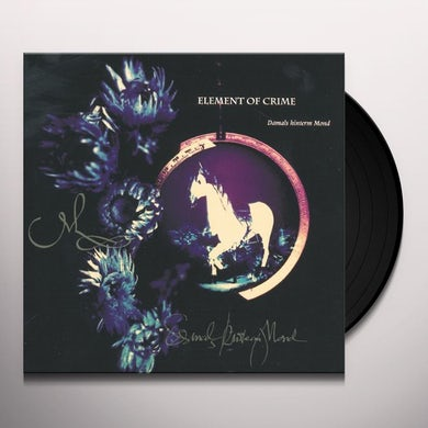 Element Of Crime DAMALS HINTERM MOND Vinyl Record