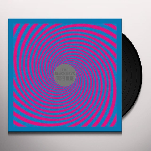 Black Keys TURN BLUE Vinyl Record
