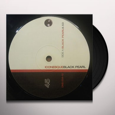 Iconesque BLACK PEARL Vinyl Record