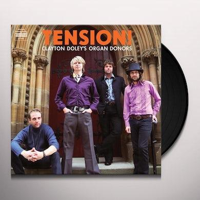Clayton Doley'S Organ Donors TENSION Vinyl Record