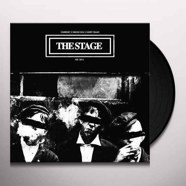 Currensy / Smoke Dza / Harry Fraud STAGE Vinyl Record