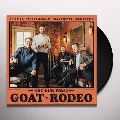 Yo-Yo Ma NOT OUR FIRST GOAT RODEO Vinyl Record