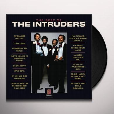 BEST OF THE INTRUDERS Vinyl Record