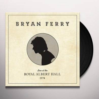 Bryan Ferry LIVE AT THE ROYAL ALBERT HALL 1974 Vinyl Record