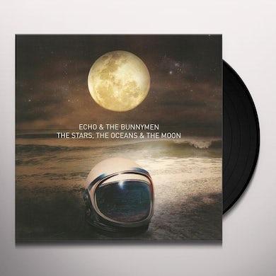 Echo & the Bunnymen STARS THE OCEANS & THE MOON Vinyl Record
