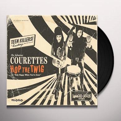 Courettes HOP THE TWIG Vinyl Record
