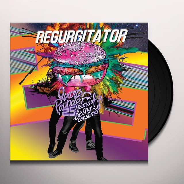 Regurgitator QUARTER POUNDER: 25 YEARS OF BEING CONSUMED Vinyl Record