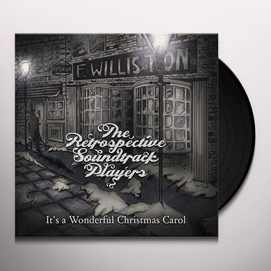 RETROSPECTIVE SOUNDTRACK PLAYERS IT'S A WONDERFUL CHRISTMAS CAROL Vinyl Record