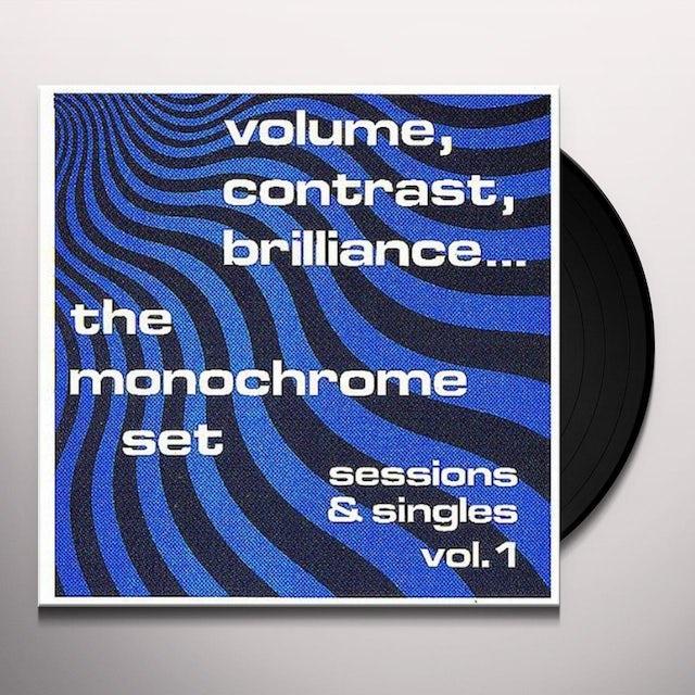 The Monochrome Set CONTRAST BRILLIANCE: SESSIONS & SINGLES 1 Vinyl Record