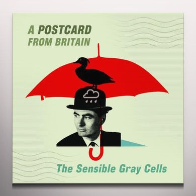 Sensible Gray Cells POSTCARD FROM BRITAIN Vinyl Record