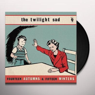 The Twilight Sad FOURTEEN AUTUMNS & FIFTEEN WINTERS Vinyl Record