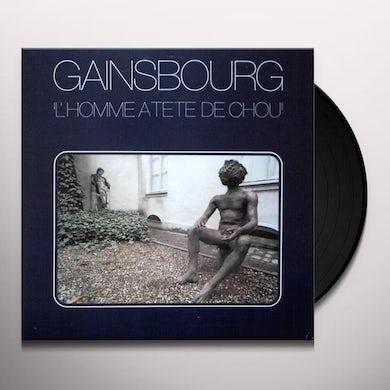 Serge Gainsbourg L'HOMME A TETE DE CHOU Vinyl Record