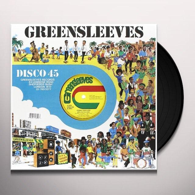 Johnny Osbourne GIVE A LITTLE LOVE Vinyl Record