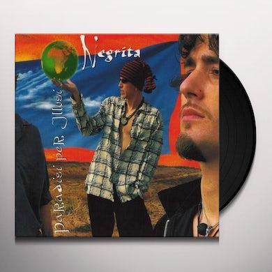 Negrita PARADISI PER ILLUSI Vinyl Record