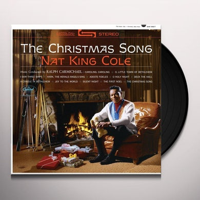 Nat King Cole CHRISTMAS SONG Vinyl Record