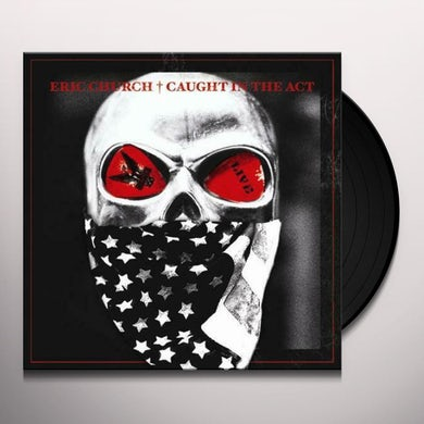 Eric Church CAUGHT IN THE ACT LIVE Vinyl Record
