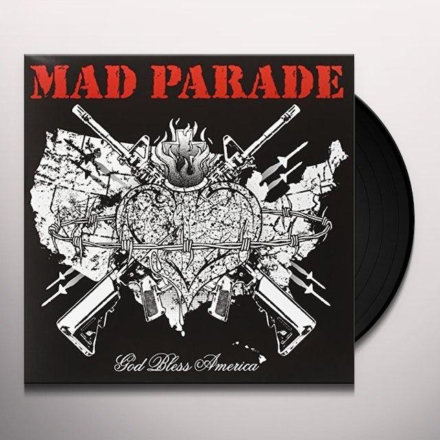 MAD PARADE GOD BLESS AMERICA Vinyl Record