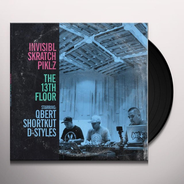 Invisibl Skratch Piklz 13TH FLOOR Vinyl Record
