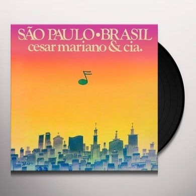 Cesar Mariano & Cia SAO PAULO BRASIL Vinyl Record