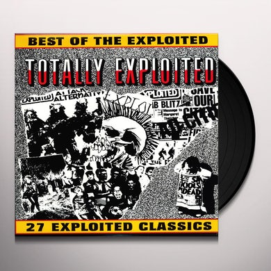 TOTALLY The Exploited Vinyl Record