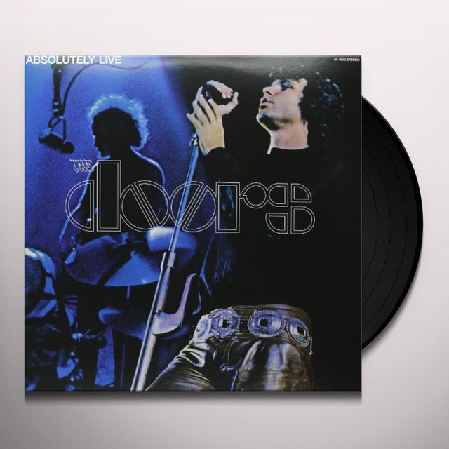 The Doors ABSOLUTELY LIVE Vinyl Record