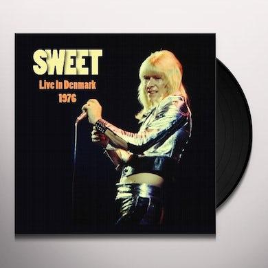 Sweet LIVE IN DENMARK 1976 Vinyl Record