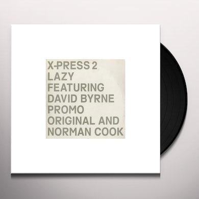 X-Press 2 LAZY Vinyl Record - UK Release