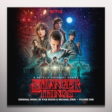 Kyle Dixon STRANGER THINGS 1 Vinyl Record - Black Vinyl, Colored Vinyl, Gatefold Sleeve