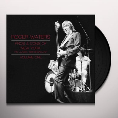 Roger Waters PROS & CONS OF NEW YORK 1 Vinyl Record
