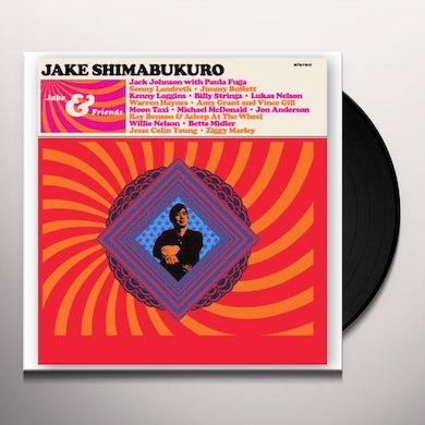 Jake Shimabukuro JAKE & FRIENDS Vinyl Record