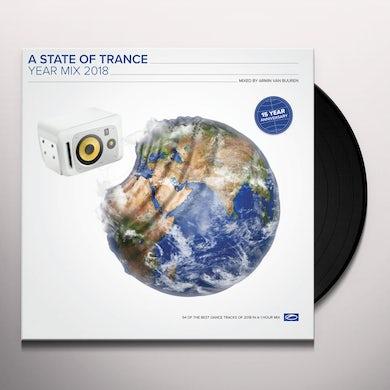 Armin van Buuren STATE OF TRANCE YEAR MIX 2018 Vinyl Record