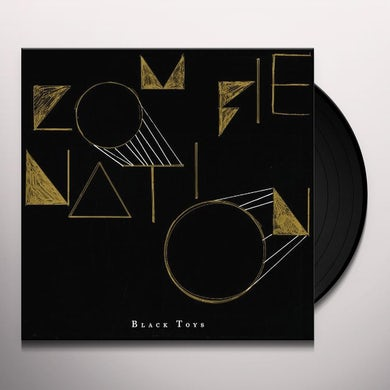 Zombie Nation BLACK TOYS Vinyl Record