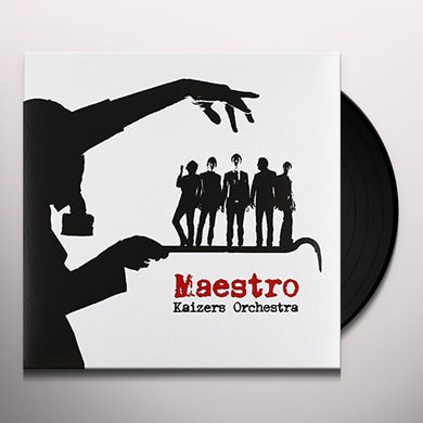 Kaizers Orchestra MAESTRO Vinyl Record - Holland Release