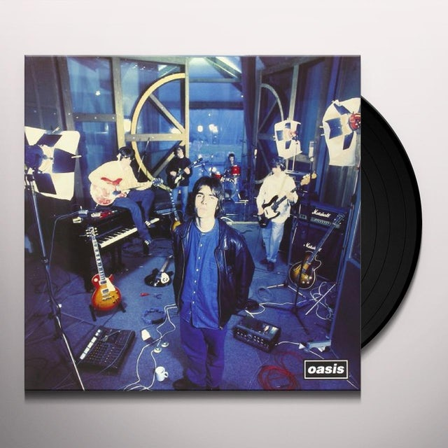Oasis SUPERSONIC Vinyl Record - Italy Release
