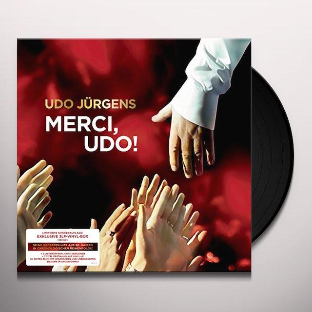 Udo Juergens MERCI UDO! Vinyl Record