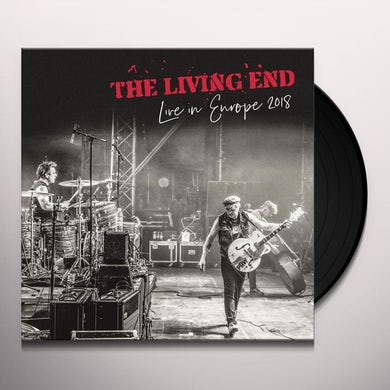 The Living End LIVE IN EUROPE Vinyl Record