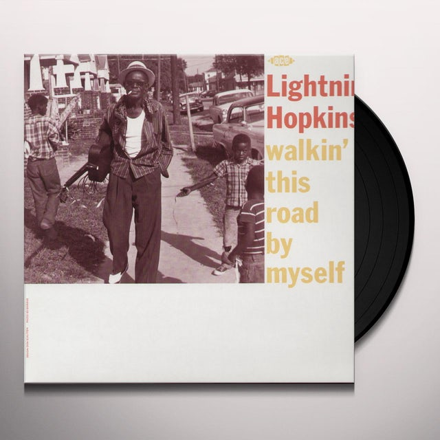 Lightnin Hopkins WALKIN' THIS ROAD BY MYSELF Vinyl Record