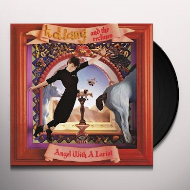K.D. Lang & Reclines ANGEL WITH A LARIAT Vinyl Record