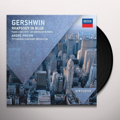 Andre Previn GERSHWIN: RHAPSODY IN BLUE AN AMERICAN IN PARIS Vinyl Record