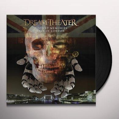 Dream Theater DISTANT MEMORIES - LIVE IN LONDON Vinyl Record