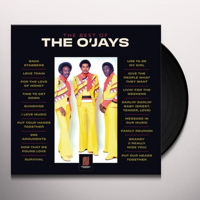 Best Of The O'jays  2 Lp Vinyl Record