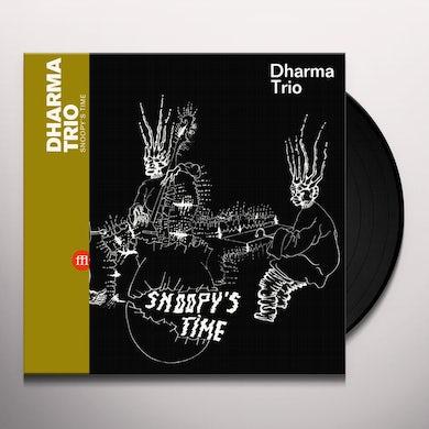 Dharma Trio SNOOPY'S TIME Vinyl Record