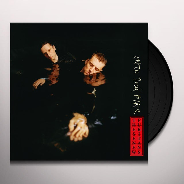 These New Puritans INTO THE FIRE Vinyl Record