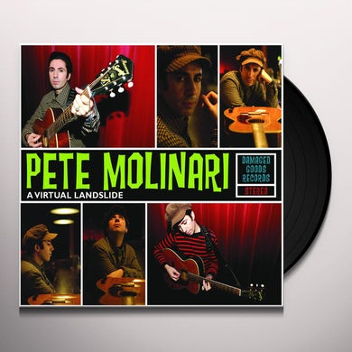 Pete Molinari VIRTUAL LANDSLIDE Vinyl Record