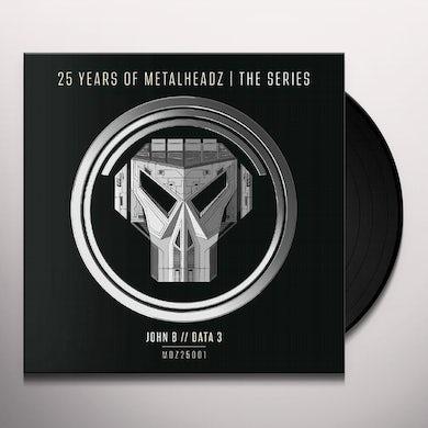 John B UP ALL NIGHT: 25 YEARS OF METALHEADZ Vinyl Record